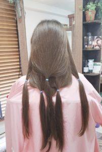 ヘアードネーション(髪の寄付)沖縄でも広がっているみたいです。