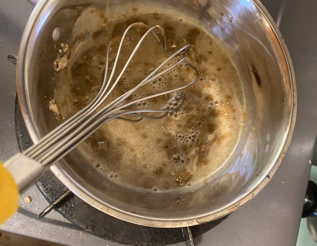 美穀菜(びこくさい)お湯だとダマになる