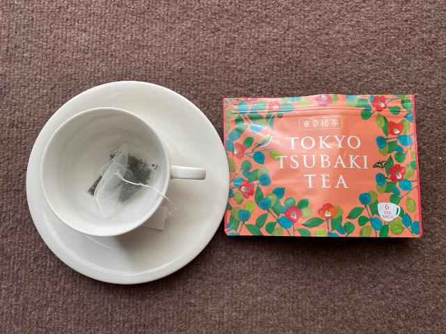 健康と美容に良いお茶【東京椿茶】リラックス効果とアンチエイジング効果が嬉しい♪